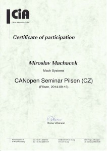 20140916-MACH SYSTEMS CiA CANopen